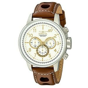 Invicta  Other - Weekend sale,Invicta leather watch (Firm price)