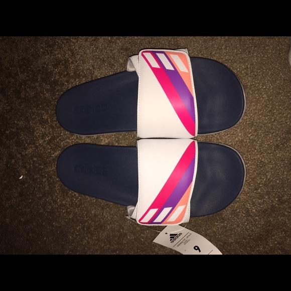 le adidas adilette di ultra - una donna nwt poshmark diapositive 9