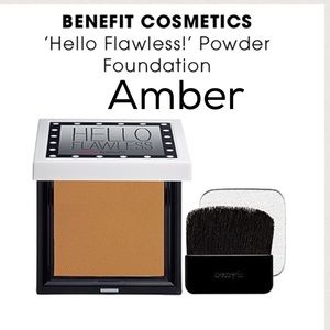 Benefit Other - BENEFIT ~ HELLO FLAWLESS POWDER FOUNDATION ~ AMBER