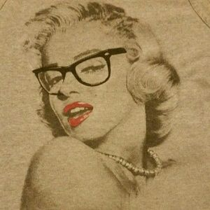 ALSTYLE Tops - SALE Marilyn Monroe Tank Top Hipster Glasses