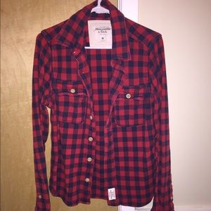 Abercrombie & Fitch Other - MENS BOYS ABERCROMBIE AND FITCH FLANNEL SIZE: M