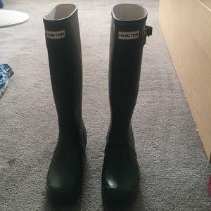 Original green hunter boots