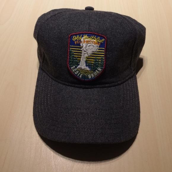 4c8315db Eddie Bauer Accessories | Old Faithful Yellowstone Buckle Hat | Poshmark