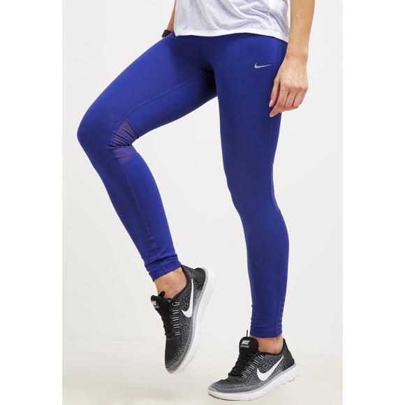 Royal blue pantyhose