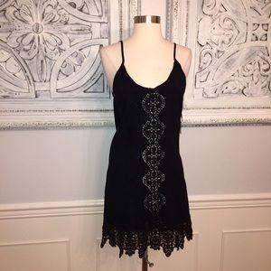 Nightcap Dresses & Skirts - Nightcap Slip Dress! Black Lace. NWT!