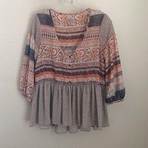 UO babydoll blouse