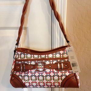 "Rosetti Handbags - Rosetti shoulder bag – 12""L x 8""H x 5""W"