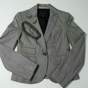 Banana Republic Jackets & Blazers - Banana Republic Lined Gray Blazer Size 0