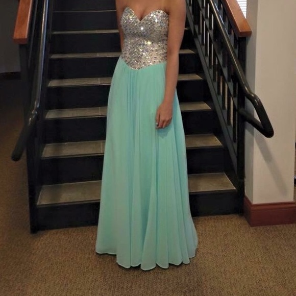 Dresses | Seafoam Green Prom Dress | Poshmark