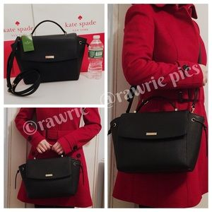 New Kate Spade Saffiano Leather Lilah Satchel