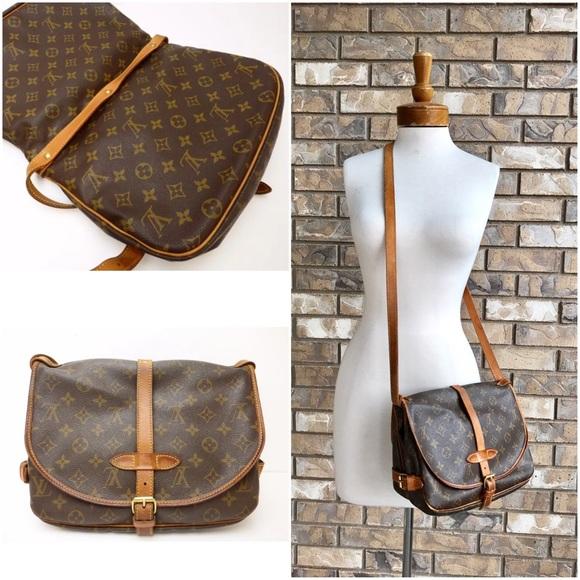 60a9888fe58e Louis Vuitton Handbags - Louis Vuitton Saumur Crossbody Bag
