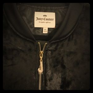 Bird by Juicy Couture Jackets & Blazers - Juicy Couture black suede jacket. BRAND NEW