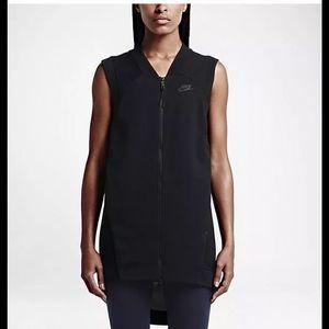 Nike Jackets & Blazers - Nike Fleece Tech Cocoon Mesh Vest.