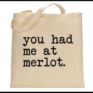 Handbags - CLOSET CLEAR OUT You Had Me @ Merlot Canvas Tote