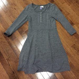 Francesca's Collections Dresses & Skirts - Francesca's Heather Gray Fuzzy Dress - S