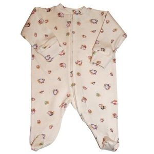 Halo Innovations Other - Organic Halo 0-3M Long-Sleeve Coverall - Teapots!!