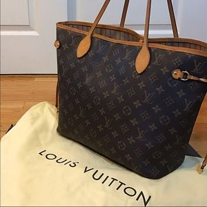 Louis Vuitton Handbags - Authentic Louis Vuitton Neverfull MM Code: SD1193