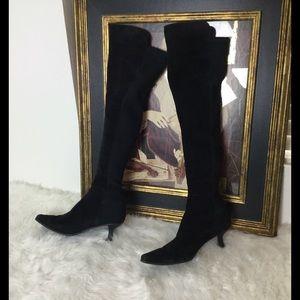 Stuart Weitzman Shoes - Stuart Weitzman Over The Knee Boots.  Sz 9