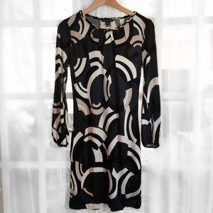 Banana Republic Dresses & Skirts - Banana Republic Black Long Sleeve Deco Dress