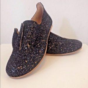 pedro garcia Shoes - Pedro Garcia size 8 glitter Oxford slip on NEW