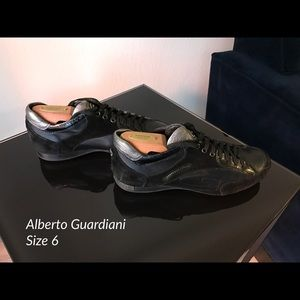 Alberto Guardiani mens sneakers size 6