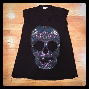 Lauren Moshi Tops - Lauren Moshi skull tank