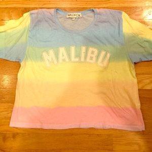 Wildfox short sleeve tye dye tshirt.