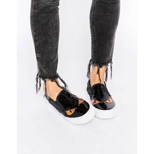 ASOS Shoes - Asos Monster Eyes Slip-Ons