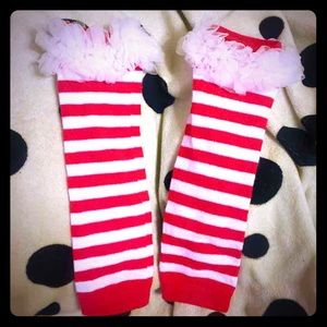 Other - CUTE Toddler holiday Leg warmers