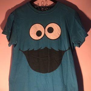 Sesame Street Tops - Cookie Monster t-shirt