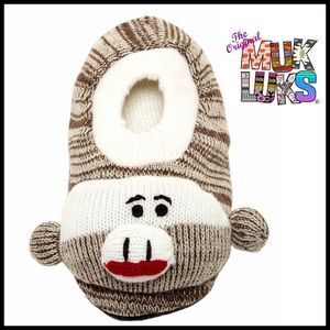 Muk Luks Other - MUK LUKS Sock Monkey Slipper Socks