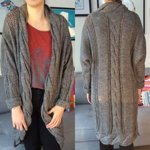 Knitted Midi Cardigan