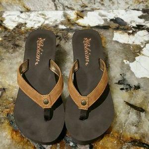 Cobian Shoes - Cobian Wedge Flip Flops