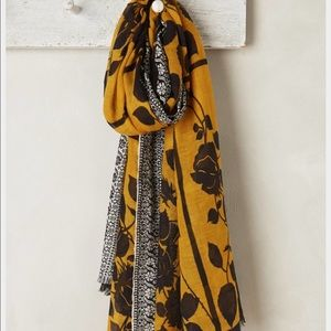 Rose Nectar Scarf by Anthropologie