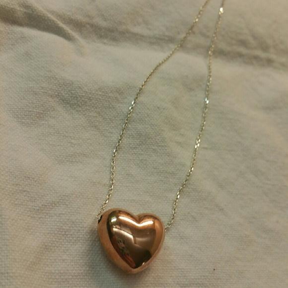 38 off Jewelry Mia Fiore Rose Gold Silver Necklace Poshmark