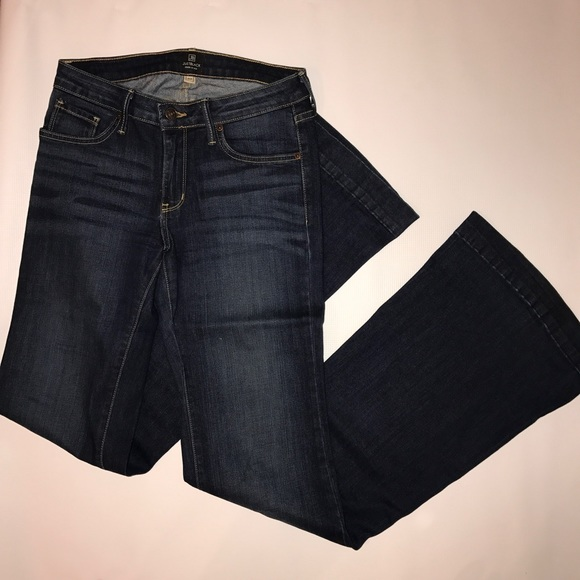 67% off Just Black Denim - Just Black dark wash flare jeans from ...