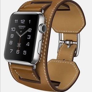 Hermes Accessories - Apple Watch Hermes Cuff 42mm Stainless Steel