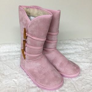 Other - Pink UGG-style Boots. Size 5