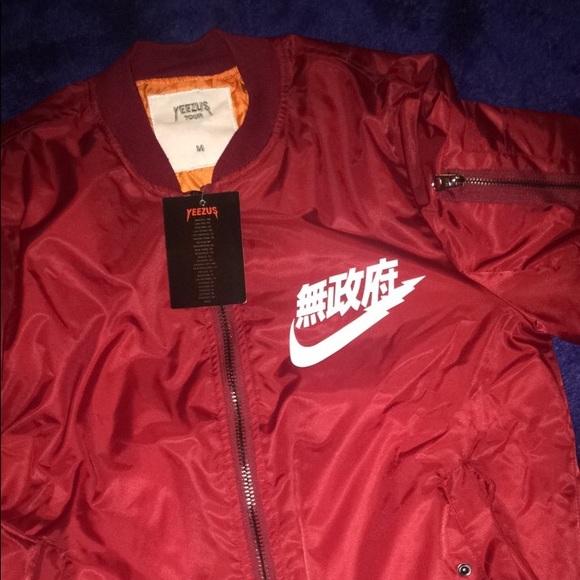 3fd3f714f Kanye West Yeezus Tour Anarchy Bomber Jacket Boutique