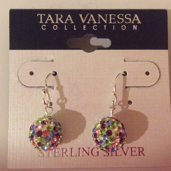 Tara Vanessa Jewelry - Tara Vanessa sterling silver multicolor earrings