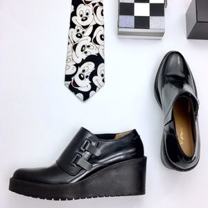 3.1 Phillip Lim Shoes - ❣️3.1 Phillip Lim BLACK WALLACE MONK STRAP WEDGE
