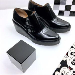 3.1 Phillip Lim Shoes - ❣️3.1 Phillip Lim BLACK WALLACE MONK STRAP WEDGE