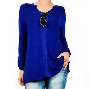 Carson kressley blue top