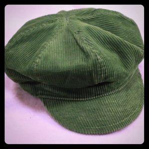 GAP Green Corduroy Cap in Ladies Small/Medium