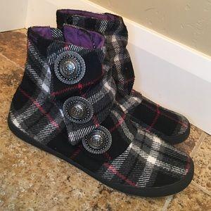 Blowfish Shoes - Blowfish Plaid Ankle Boots