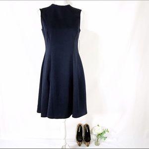 Donna Morgan Dresses & Skirts - Donna Morgan Navy Fit and Flare Dress NWT