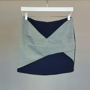 Thakoon Dresses & Skirts - THAKOON ADDITION Colorblock knit mini skirt