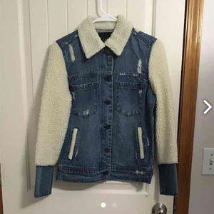 Blank NYC Jackets & Blazers - Blank Nyc wool collar