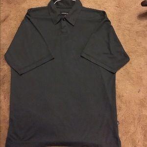 Adolfo Other - Adolfo Men's Gray Short Sleeves Polo Shirt Medium