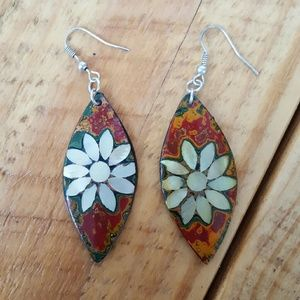 polynesian earrings
